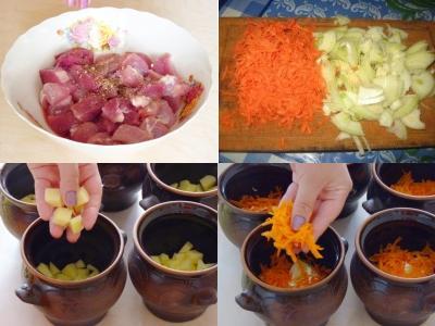 жаркое горшочках духовке с сыром