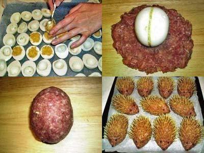 зразы мясные с яйцом рецепт, зразы с целым яйцом внутри