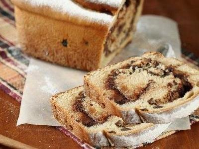 Дрожжевой кекс с шоколадом, рецепт