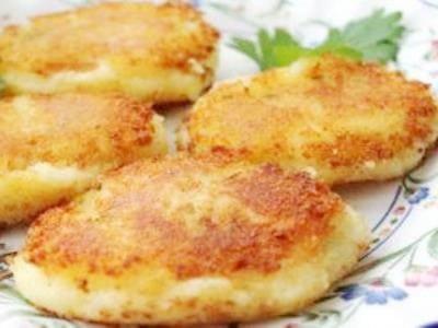 Биточки из картофельного пюре