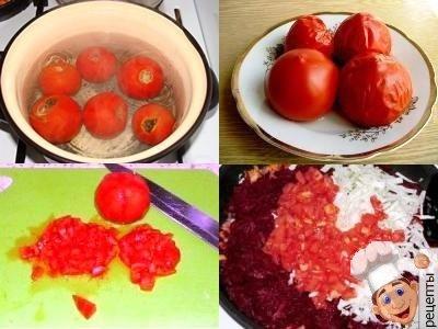 борщ с помидорами рецепт со свеклой