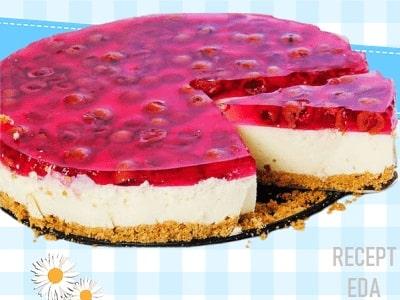чизкейк вишневый с творогом