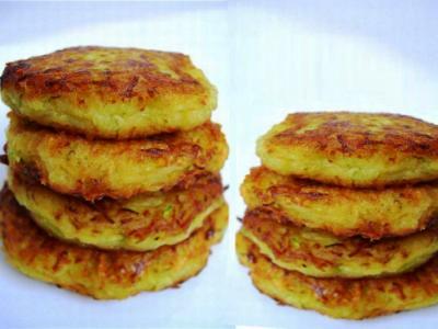 драники из картошки и кабачков, рецепт, как приготовить