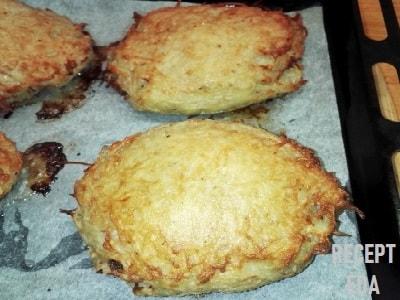 драники картофельные без муки с сыром в духовке