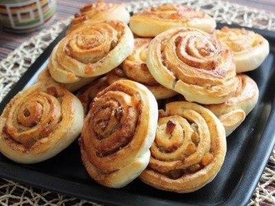Дрожжевые булочки с корицей, рецепт