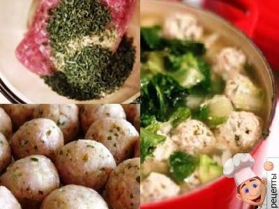фрикадельки из индейкидля супа