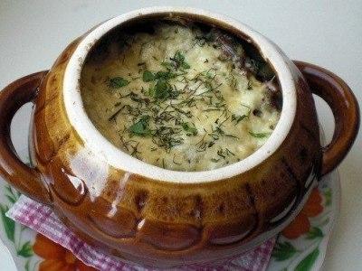фрикадельки в горшочке с картошкой, картошка с фрикадельками в горшочке
