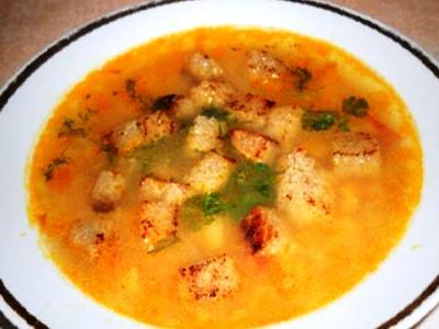 Гороховый суп без мяса, рецепт