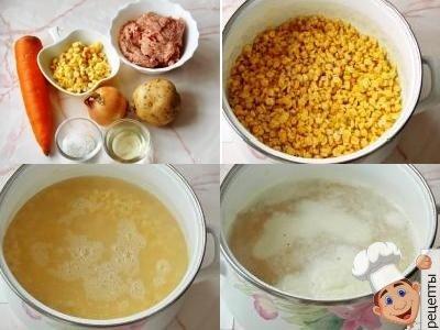 суп гороховый с фрикадельками рецепт
