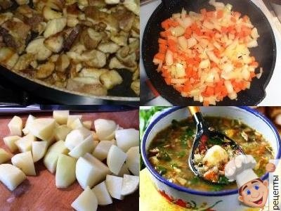 грибной суп с гречкой рецепт