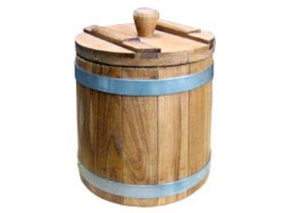 Деревянные бочки, кадки для консервирования – только плюсы