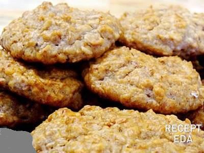 овсяное печенье без муки на сковороде