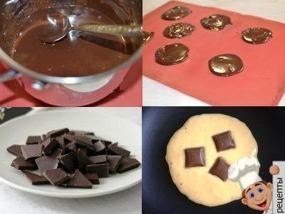 как приготовить панкейки сшоколаднойначинкой