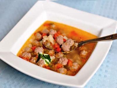 Рисовый суп с фрикадельками, рецепт супа с рисом и картошкой