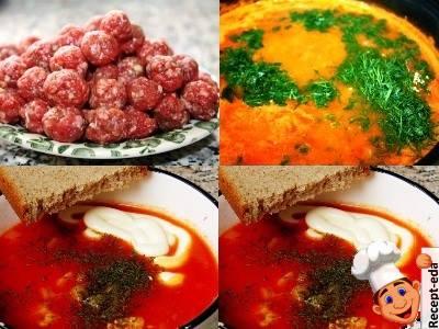 как приготовить томатный суп из свежих помидоров