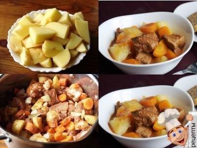 как приготовить домашнее жаркое из говядины