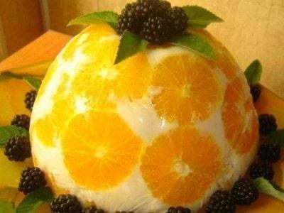 Как сделать домашнее желе из йогурта с фруктами