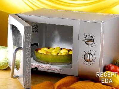 Как в микроволновке приготовить картошку: легко, быстро, вкусно. Рецепты