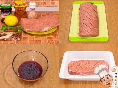 как вкусно запечь свинину
