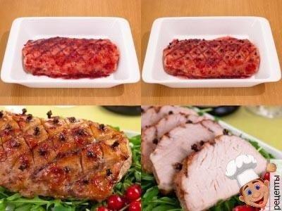 как запечь свинину в духовке