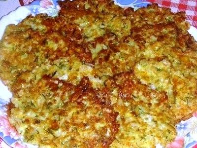 Капустные оладьи с сыром, простой рецепт