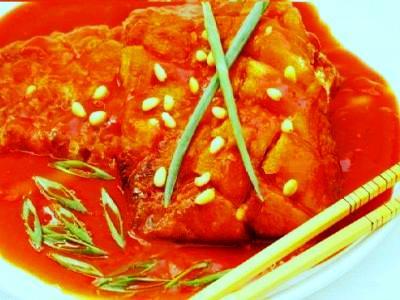 Карп в кисло-сладком соусе по китайски, рецепт