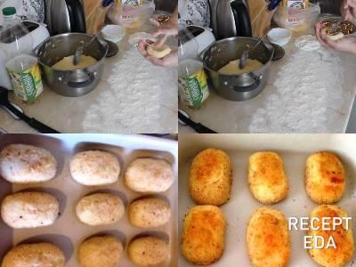 картофельные зразы с грибами как готовить