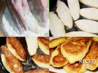 картофельные зразы с капустой обжарьте