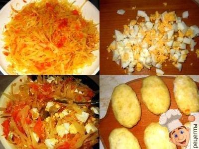 картофельные зразы сквашенойкапустой