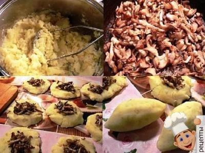 как приготовить зразы с грибами, картофельные зразы с шампиньонами