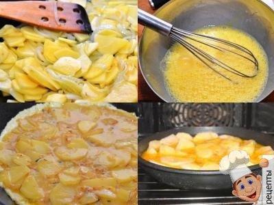 картофельная запеканка сяйцом в духовке