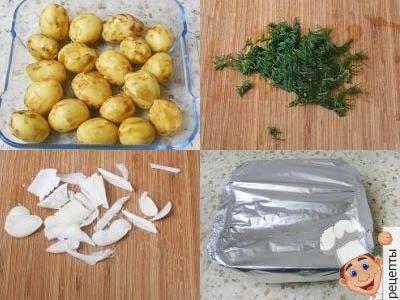 картошка в духовке, рецепт, как приготовить