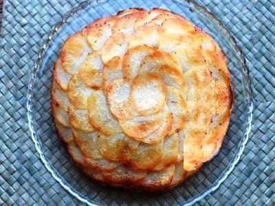 картошка со сливками в духовке