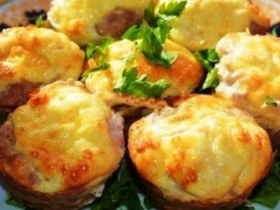 маффины с сыром, как испечь