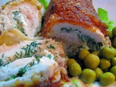 котлеты по киевски из куриного филе с сыром