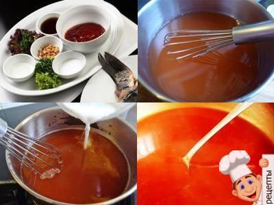 китайский кисло сладкий соус карп
