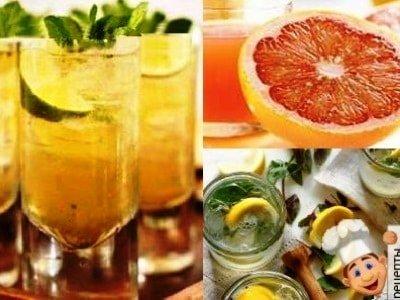 коктейли на основе зеленого чая