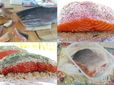 красная рыба, как солить