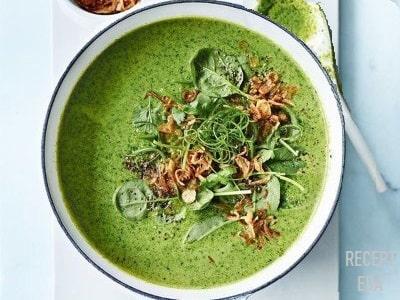 крем суп из брокколи и шампиньонов