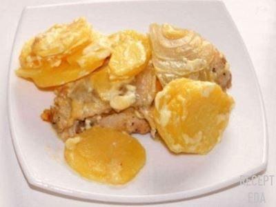 куриное филе с картошкой в мультиварке