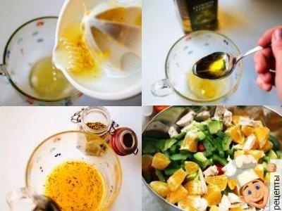 куриный салат с авокадо