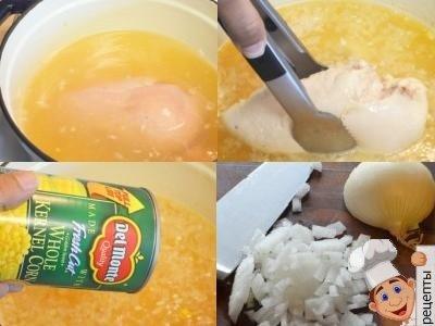 как сварить вкусный куриный суп