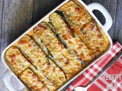 овощная лазанья из кабачков