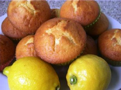 Лимонные маффины, рецепт приготовления маффинов с лимоном