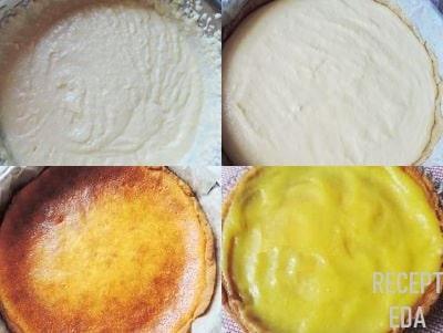 лимонный чизкейк с творогом