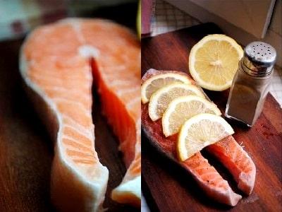 как приготовить лосось с лимоном в духовке в фольге