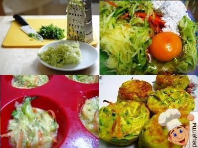 маффины с овощами, овощные маффины
