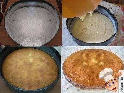 пирог манник на сметане в духовке