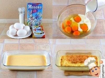 омлет в духовке пышный рецепт, как сделать пышный омлет
