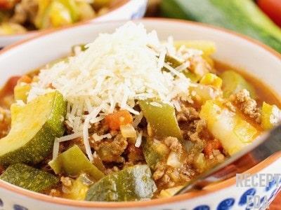 овощное рагу с кабачками и помидорами рецепт